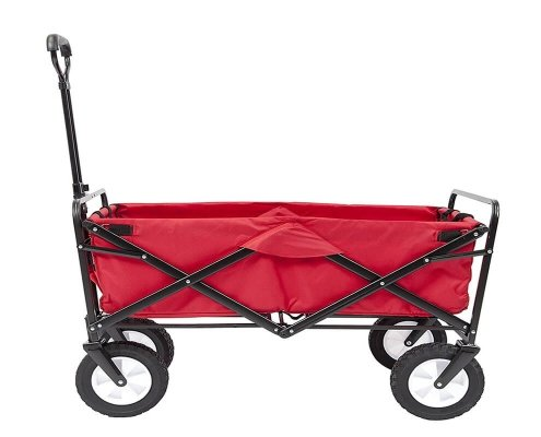 Collapsible Folding Garden Outdoor Park Utility Wagon Picnic Camping Cart