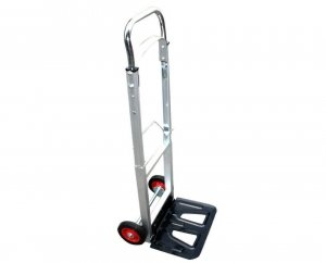 Folding Hand Truck Dolly 220 lb Capacity Telescopic Handle