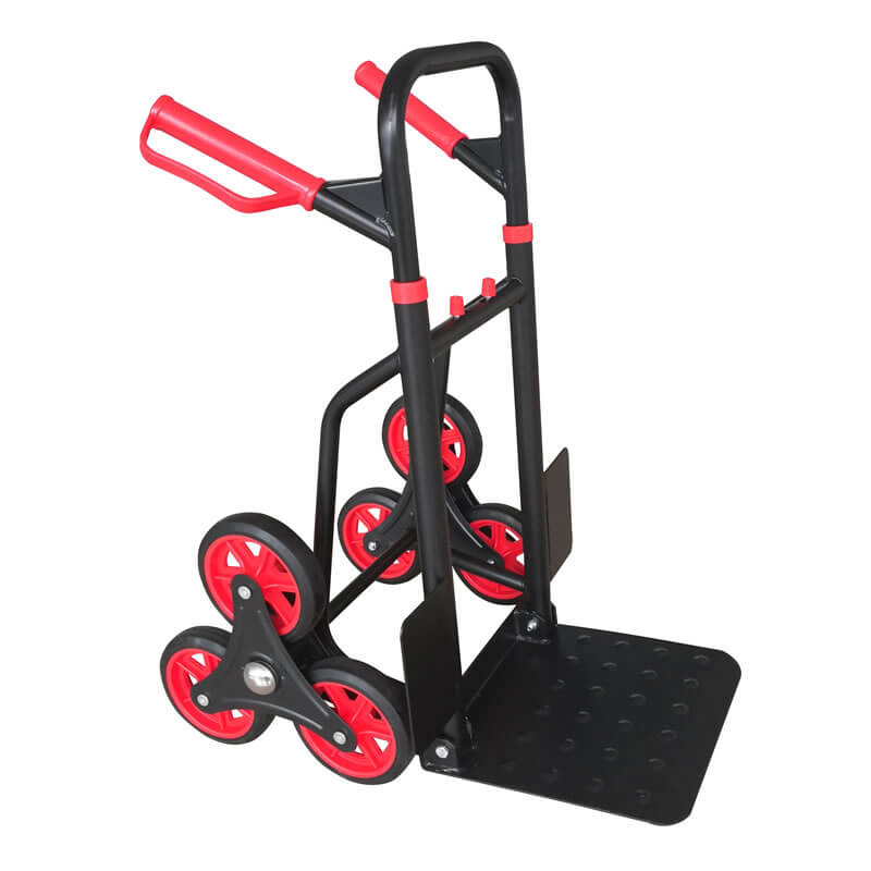 Heavy Duty Stair Climbing Moving Dolly Hand Truck Warehouse Appliance Cart