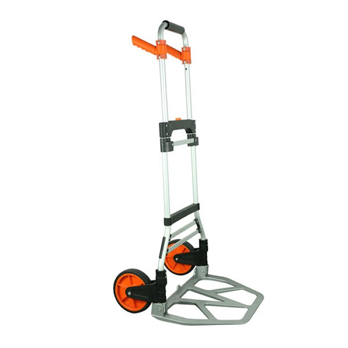 120kg two wheels aluminum Folding Hand Truck With Handle Trolley