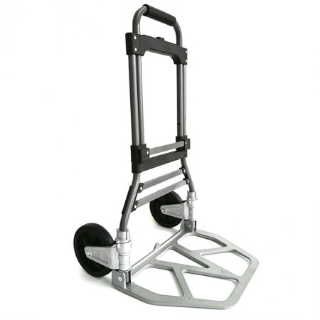 New Aluminum Wheel bracket Steel Frame Heavy Duty Folding Hand Trolley