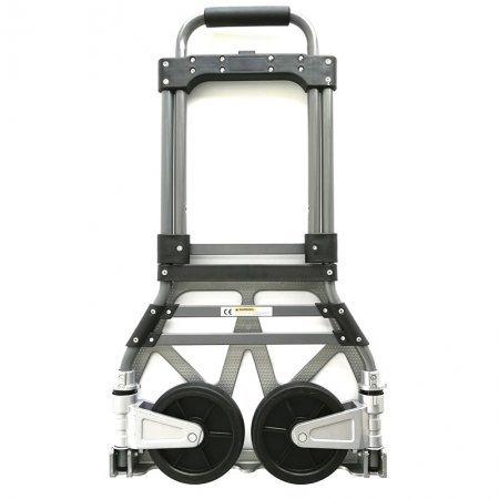 New Aluminum Wheel bracket Steel Frame Heavy Duty Folding Hand Trolley