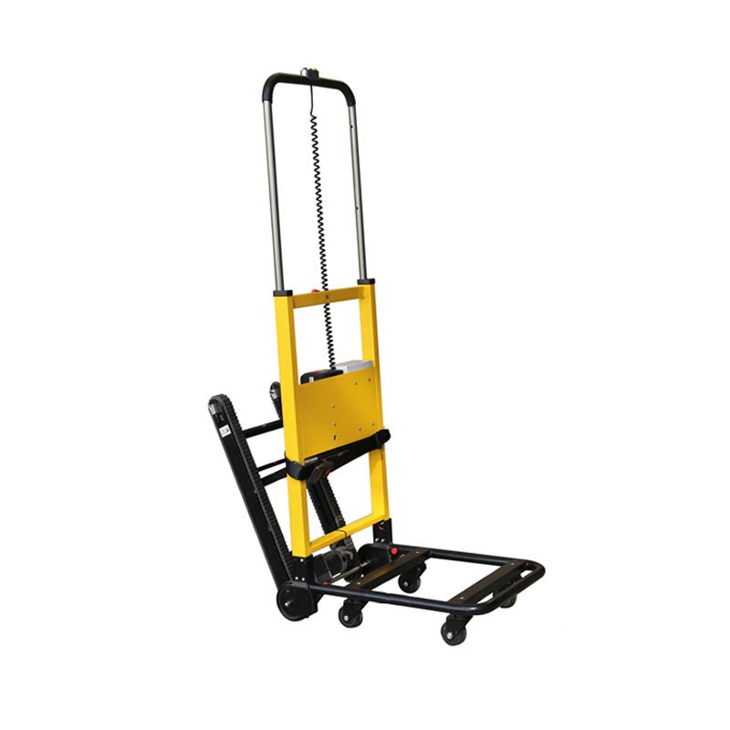 Electric stair climbing hand truck